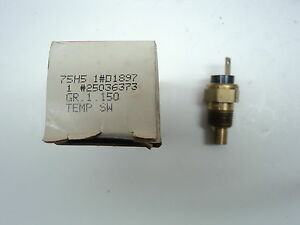 NEW GM Engine Temperature Sender 1982-1987 4 6 cyl Chevy Buick Olds Pontiac