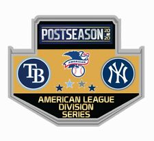2020 AMERICAN LEAGUE DIVISION SERIES DUELING PIN TAMPA BAY RAYS VS. N.Y. YANKEES