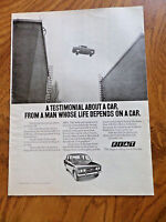 1973 Fiat Ad  The Fiat 124  A Testimonial About a Car