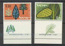 Israel - 1961 - Mi. 247-48 - Plakkerrest - L3223
