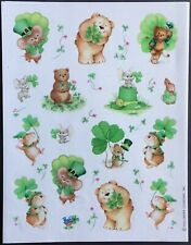 Vintage Stickers - Hallmark - St. Patrick's Day - Mint Condition!