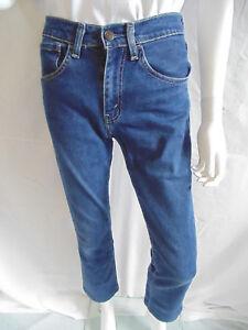 Levi's Womens Jeans Regular Size Denim Blue Medium Wash Ultra Low Rise Waist 29