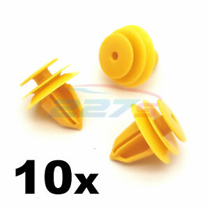 10x Clips- Fits Nissan Qashqai J11 Front Wheel Arch Flare Trim Clips 84953JA00A