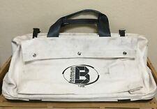 Bashlin Industries 12S Canvas Tool Gear Bag w/Steel Frame + Plastic Bottom