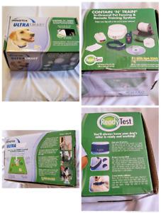 INNOTEK PETSAFE ULTRASMART DOG FENCE CONTAIN AND TRAIN COLLARS