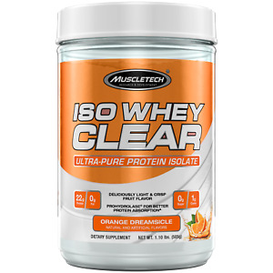 MuscleTech Iso Whey Clear 1.1lb Ultra Pure Protein Isolate