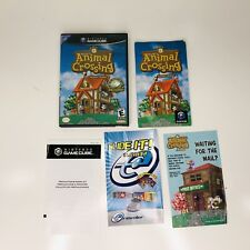 Animal Crossing *NO GAME* Box Case and Manual ONLY (Nintendo GameCube, 2002)