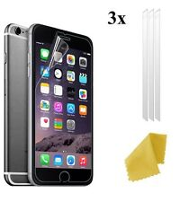 3 X Clear Plastic Screen Guard LCD Protector Film Layer For New Apple iPhone 7