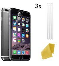 3 X protector de pantalla de plástico transparente Film Protector de Pantalla LCD capa para nuevos Apple iPhone 7