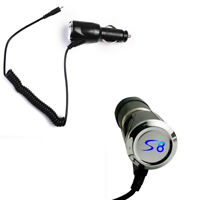 For Samsung Galaxy S8 Plus S7 Fast Car Charger Charging Adapter USB Type-C Cable