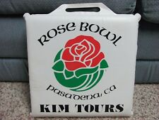 Michigan Wolverines Rose Bowl Seat Cushion Football Pasadena CA KIM TOURS