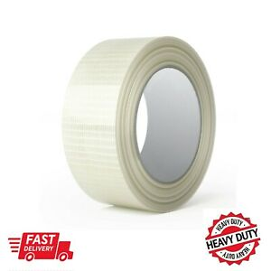 Strong Durable Crossweave  Filament Tape Reinforced Filament 25mm 50mm x 50Meter