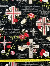 Amazing Grace Religious Christian Cross Faith 18