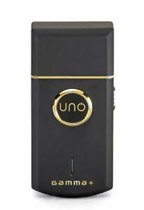 GAMMA+ UNO GPUNOSFS Professional Lithium-Ion Single Foil Shaver Black NEW