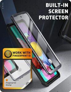 For Samsung Galaxy A52s 5G , i-Blason Ares 360° Screen Case Flexible Cover BLACK
