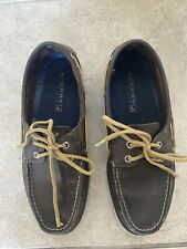 Mens SPERRY TOP SLIDERS Casual BOAT Shoes Size 9 M Brown