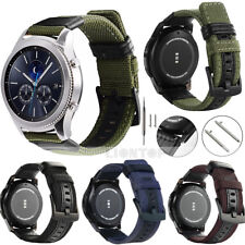 20mm 22mm Woven Nylon Sport Watch Band Military Army Strap W/ Quick Spring Pins