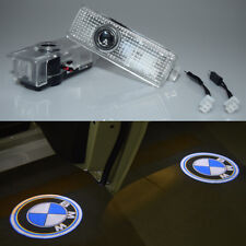 2x LED Car Door Welcome Laser Projector Ghost Shadow Light For BMW 3s 5s x6 GT