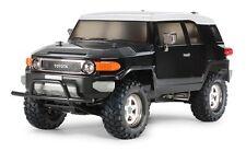 Tamiya 58620 1/10 RC CC01 Truck Toyota FJ Cruiser (Black Special Body) Kit w/ESC