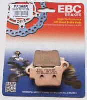 KTM SX450 / SXF 450 REAR EBC BRAKE PADS FA368R FITS 2003 TO 2020