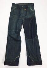G star jeans concept elwood w29 L32 tg 42 43 usato denim loose biker blu T2558