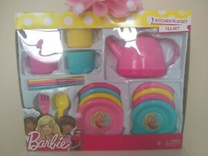 Barbie Kitchen Playset - Tea Set (30 Pieces)