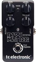 New TC Electronic Dark Matter Distortion Guitar Effects Pedal!