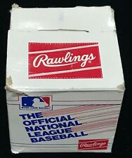 vintage RAWLINGS NATIONAL LEAGUE NL 1982-85 CHUB FEENEY original baseball box