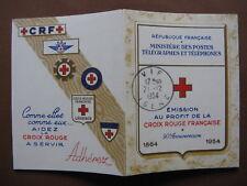 FRANCE neufs CROIX-ROUGE 1954 carnet n° 2003