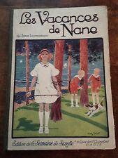 les vacances de nane EO (1925) andré Lichtenberger gautier et languereau