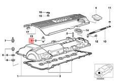 Genuine BMW E36 E38 E39 Z3 Engine Cylinder Head Valve Cover OEM 11121703341