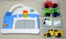 LeapFrog CAR WASH Musical Sounds Learning Fridge Magnetic +4 Vehicles *NICE*