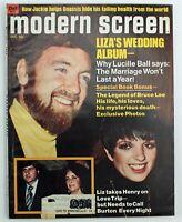 Vintage Modern Screen Gossip Collectors Magazine Bruce Lee Sophia Loren 1974