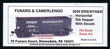 LMH Funaro F&C 5050 ERIE  NYS&W  SUSQUEHANNA  Rib Side Coal Ore Hopper Steam Era