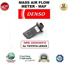 DENSO MAF MASS AIR FLOW METER SENSOR OEM: 2220426010 for TOYOTA LEXUS OE QUALITY