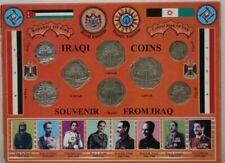 Iraqi Coins (Fils & Dinar) Souvenir Display Set