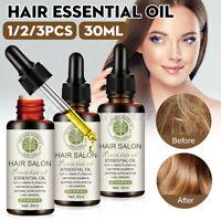 30ml Hair Growth Serum Natural Hair Regrowth Treatment Repair Care Essential