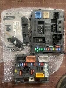 PEUGEOT 307sw 1.6 16V PETROL ECU KIT 0261201610 9664255780 NFU 2007