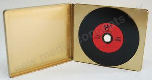 CD/ DVD Metalldosen inkl. Halterung, in GOLD, 10 Stück