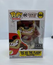 Funko Pop! DC Looney Tunes TAZ AS THE FLASH #844 FYE Exclusive