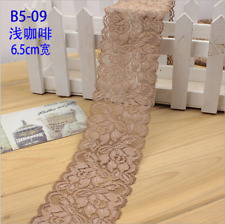 Flower Stretch Lace Trim Ribbon Sewing Dress Skirt Decor DIY Handicrafts FL104