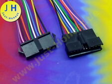 KIT BUCHSE+STECKER 10 polig /way verdrahtet  Male+Female Connector wired #A1894