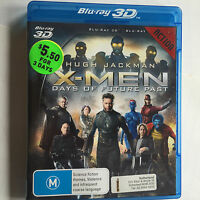 X-Men Days of Future Past - ExRental BluRay 3D Action Hugh Jackman  - NO CASE
