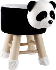Kids Panda Face Stool