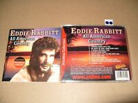Eddie Rabbitt All American Country cd 2006 Near Mint condition (L.S.)