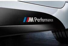 Pair M Performance Car Sticker 3D Emblem Badge Sport Logo For BMW M Series Decal