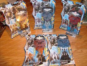 Deluxe Armor Set, Batman the Dark Knight Rises (Mattel, 2011) Complete Set of 5