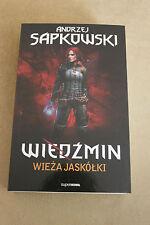 WIEDŹMIN. TOM 6 - WIEŻA JASKÓŁKI (okładka miękka) Sapkowski Andrzej new