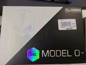 Glorious Model O- O Minus Gaming Mouse Matte White