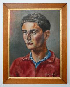 Portrait de jeune homme Gérard Cabet soungouroff gay interest homosexualité